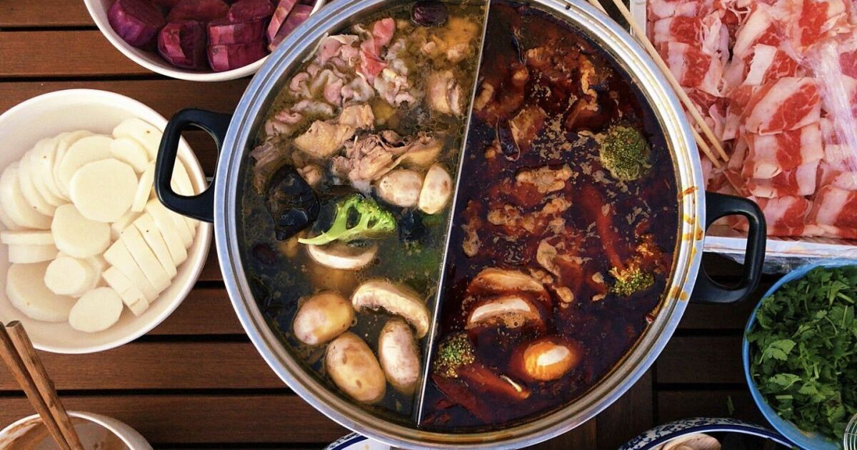 www.latimes.com: In the pandemic, Asian Americans relish the cozy family ritual of hot pot