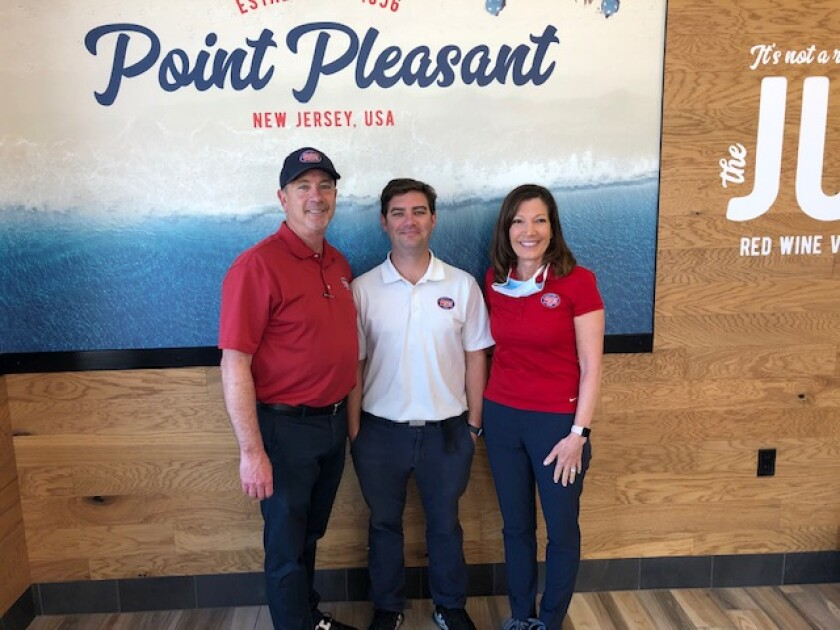 Mike, Garrett and Cathy Brown are opening a new Jersey Mike's in the Village of Pacific Highlands Ranch.