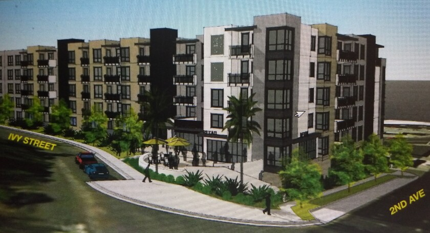 Five Story Apartment Complex Approved For Downtown Escondido The San Diego Union Tribune