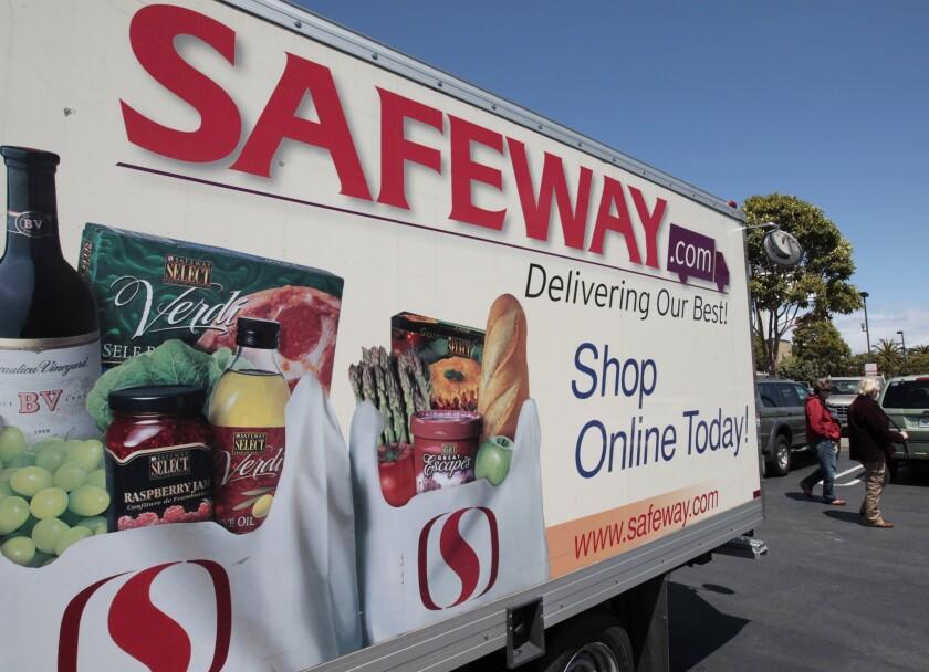 Safeway revenue flat in first quarter