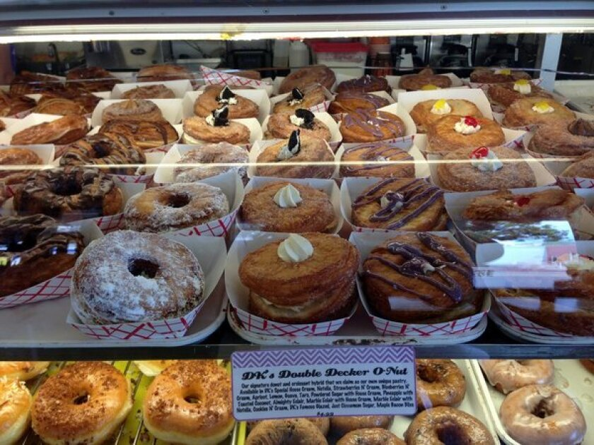 DK's Donuts changed the name of its croissant doughnuts to DK's Double Decker O-Nuts because of the Cronut's trademark.