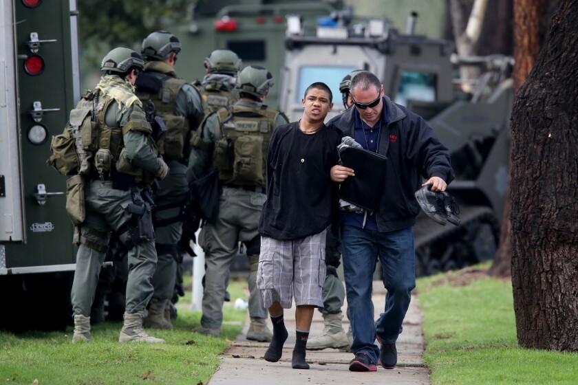 Arrest in Upland
