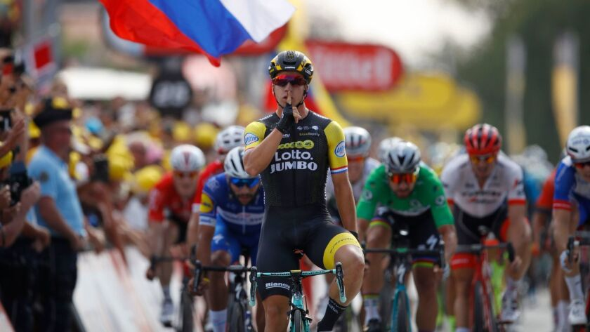Tour de France 2018 - 7th stage, Chartres - 13 Jul 2018