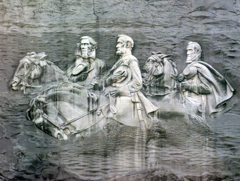 NAACP wants Confederate carving removed from Georgia's Stone Mountain