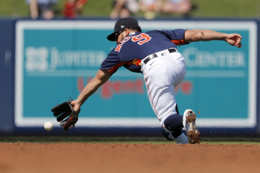 Mets Astros Spring Baseball