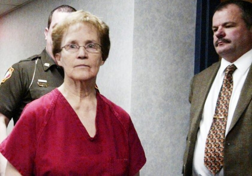 Ruby Klokow, 76, pleaded guilty Monday to the second-degree murder of a her 7-month-old daughter in 1957.