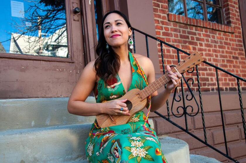 Sonia De Los Santos will perform a children's music livestreamed concert for the La Jolla Music Society on May 15.