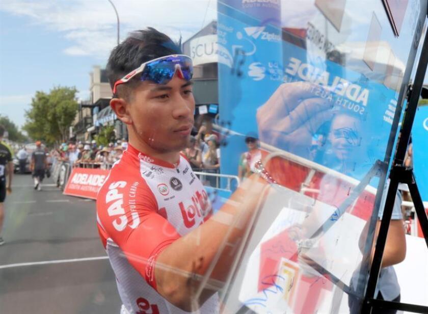 El ciclista australiano Caleb Ewan. EFE/Archivo