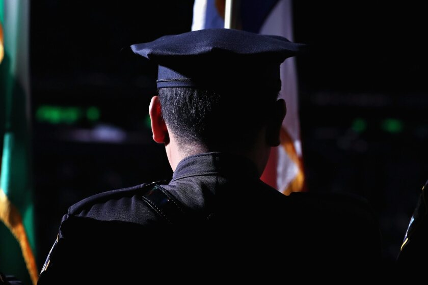 New York City had trained less than 1,000 officers in crisis intervention training as of June.