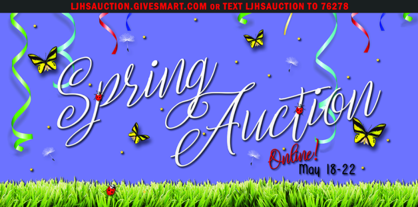 The La Jolla High School Foundation's spring auction is on through Friday, May 22.