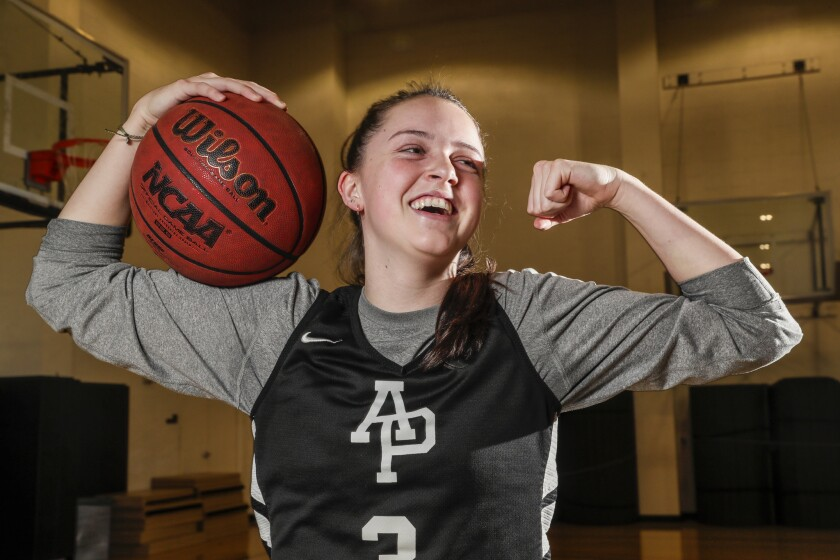 Azusa Pacific freshman guard Lydia Nieto hit a three-pointer at the buzzer last week to lift her team to victory over Alaska Anchorage in the NCAA Division II West Regional Finals.