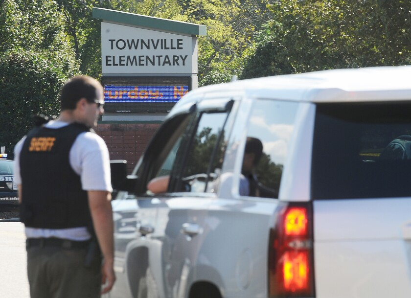 Townville Elementary School shooting in South Carolina