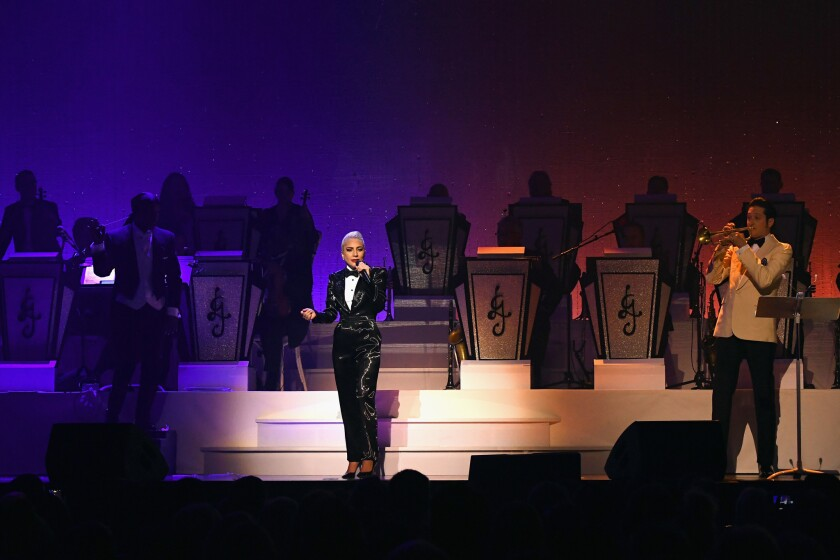 LADY GAGA JAZZ & PIANO at Park Theater at Park MGM in Las Vegas