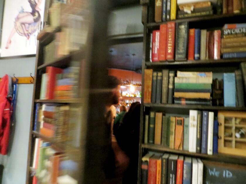 The Bookcase & Barber speakeasy in Durango, Colo.