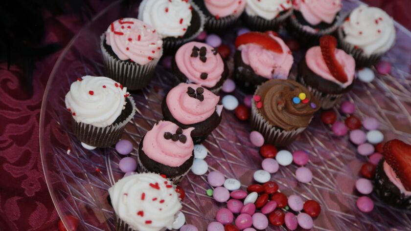 Studio 158 hosted chocolate cupcakes and wine pairings during the Escondido Chocolate Festival. For the $25 ticket, patrons received pairings of specialty chocolates and beer and wine.