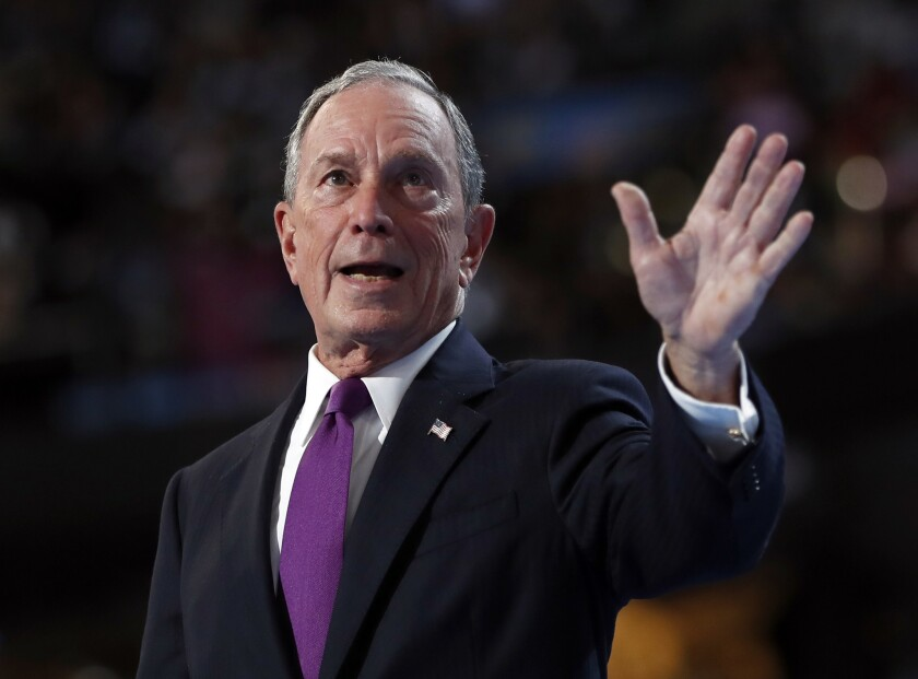 Median monthly pay at this software, data and media company (headed by Michael Bloomberg): $6,400