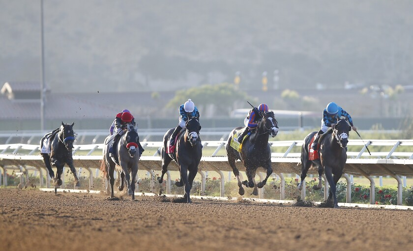 Racing! Del Mar finishes a successful season - Los Angeles Times