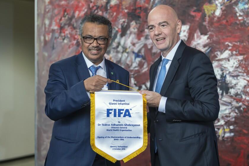 Switzerland Soccer FIFA Health