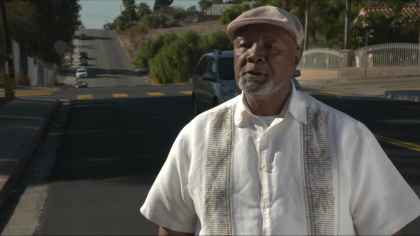 "A video from the Communications Department shows this unnamed city resident saying San Diego's streets used to be dangerous and damage vehicles, but, ""Now for the first time in years, our streets are new."""