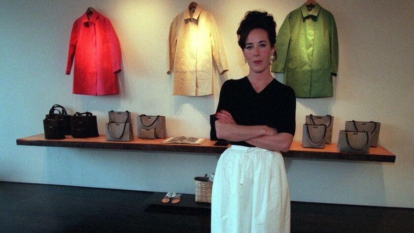 Designer Kate Spade S Death Renews Conversation About Mental Health Awareness Los Angeles Times