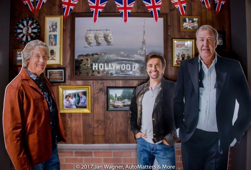 "James May, Richard Hammond & Jeremy Clarkson of ""The Grand Tour"""