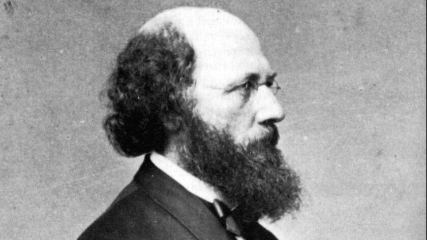 Circa 1863 photo of U.S. Supreme Court Justice Stephen J. Field.