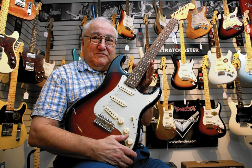 Ken Grayson, who owns Grayson's Tune Town musical instrument shop in Montrose, said reaction was intense among dealers at Fender's plans to sell directly to consumers.