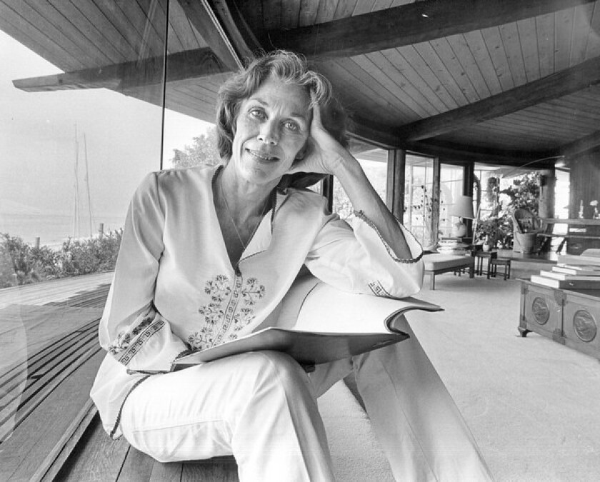 """Nan Martin, seen in 1979, was a mainstay on the Southern California theater scene for decades and played Ali MacGraw's snobbish mother in """"Goodbye, Columbus."""" Mothers, in all their diversity, became a staple of Martin's career."""
