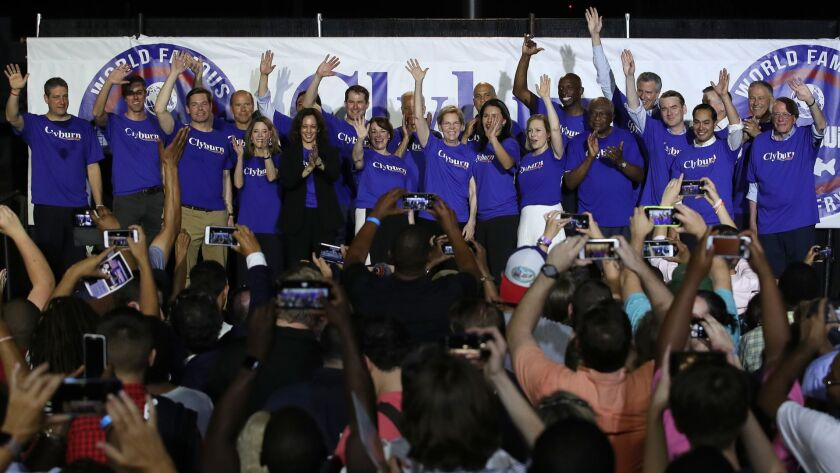 Presidential Candidates Attend Annual Jim Clyburn Fish Fry In South Carolina
