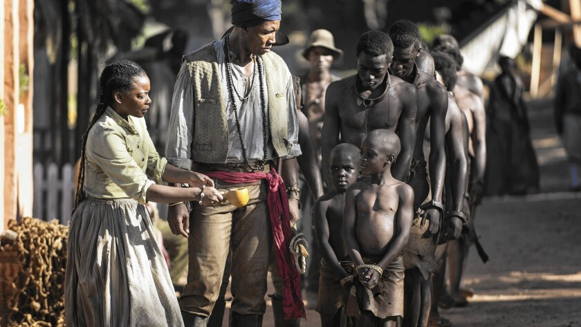 BET miniseries 'The Book of Negroes' offers woman's view of slavery era