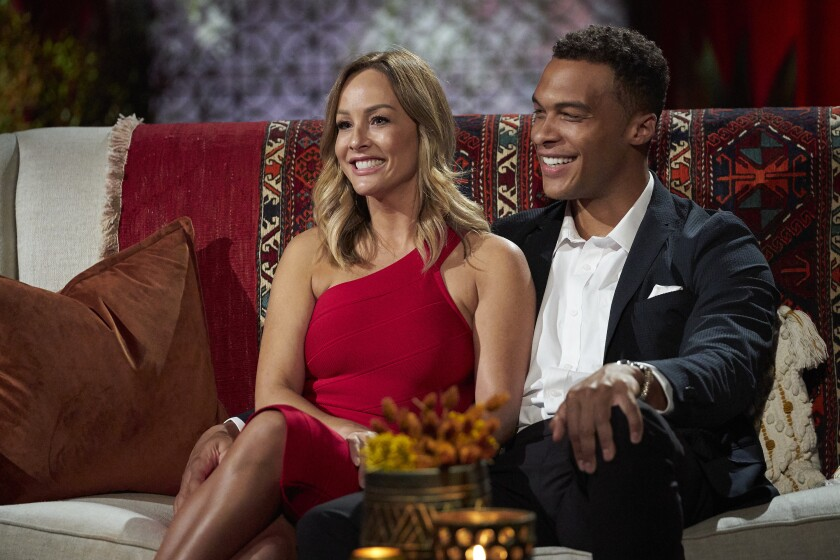 """""""The Bachelorette"""" star Clare Crawley with Dale Moss"""