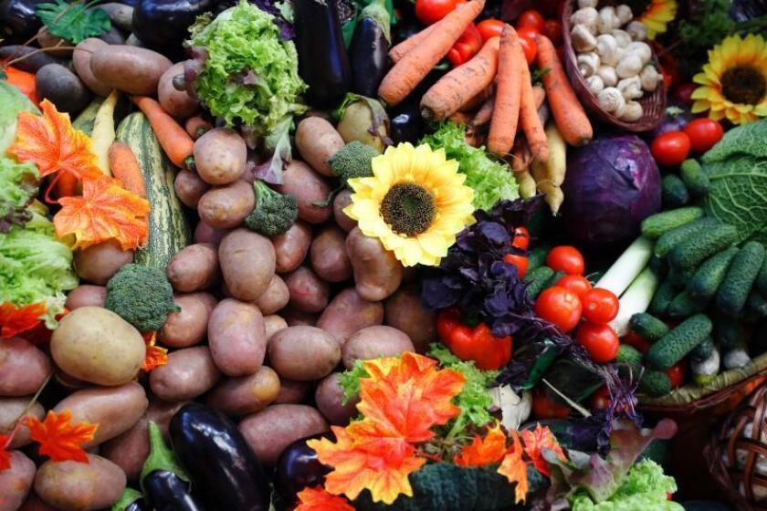 Frutas y vegetales. EFE/Archivo