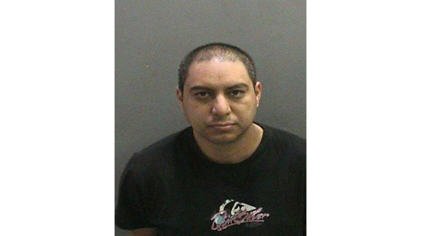 Alejandro Flores, a Los Angeles County sheriff's deputy, pleaded guilty to nine felony counts in connection with abusing his girlfriend.