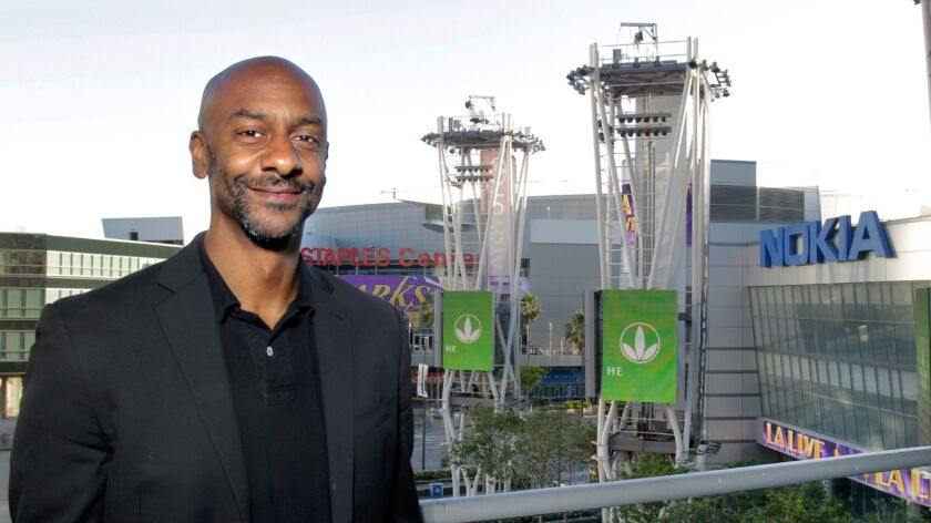 BET president Stephen Hill, shown in 2013, announced that he was leaving the Viacom network on Friday.