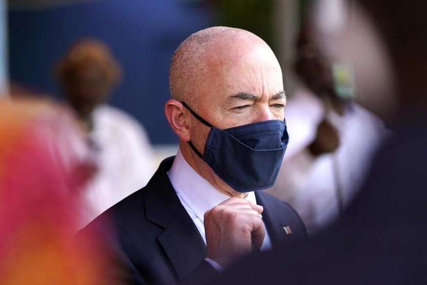 El secretario de Seguridad Nacional, Alejandro Mayorka
