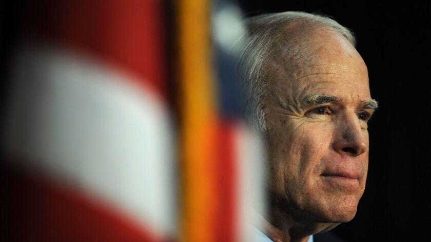 Sen. John McCain in 2008.