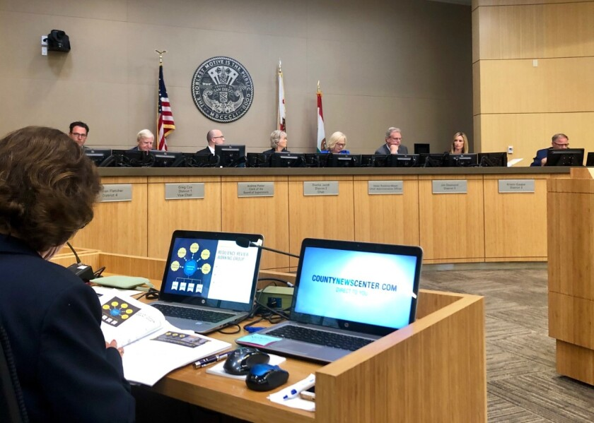 County Board of Supervisors vote on Sept. 10, 2019