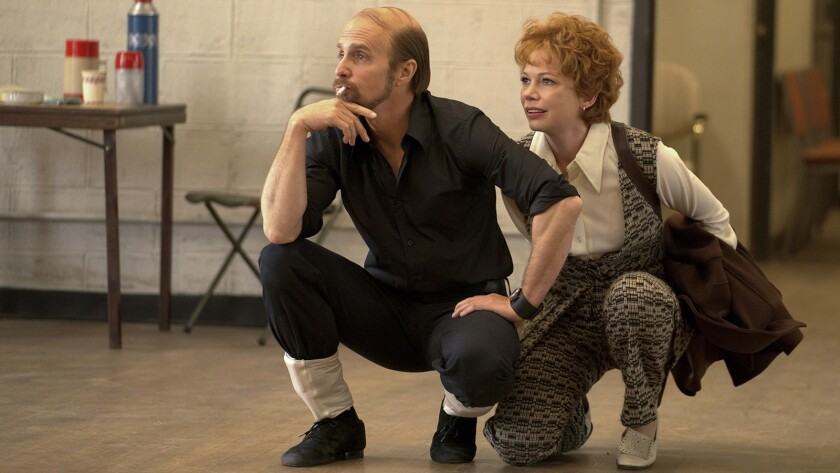 """Sam Rockwell and Michelle Williams in """"Fosse/Verdon"""" on FX."""