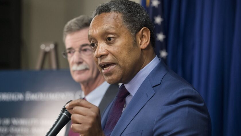 DC AG Karl Racine and Maryland AG Brian Frosh announce lawsuit against US President Donald J. Trump