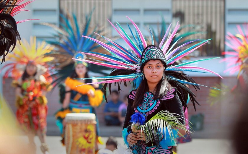 10 a.m. to 6 p.m. Saturday and Sunday. Balboa Park at Park Boulevard and Presidents Way, San Diego. Free. (858) 442-5033. Details. Native Americans gather for this inter-tribal powwow to share heritage, customs and traditions with communities countywide. The sound of rhythmic drums and vibrant ceremonial dancers will take over Balboa Park this weekend to honor the heritage and traditions of American Indians through drumming, singing and storytelling.