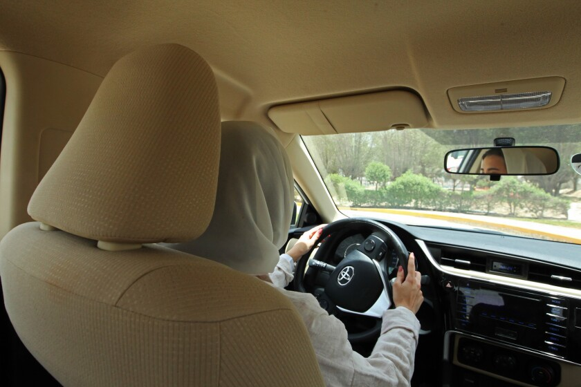 Women in Saudi Arabia will be allowed to drive beginning Sunday.