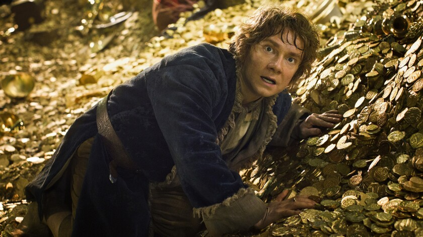 "Martin Freeman as Bilbo Baggins in ""The Hobbit: The Desolation of Smaug."""