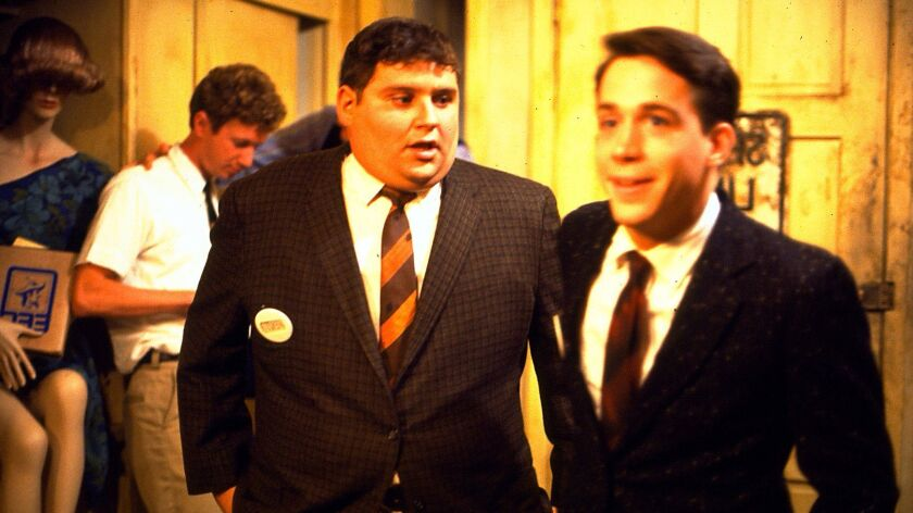 """Stephen Furst, left, and Tom Hulce in """"National Lampoon's Animal House."""""""