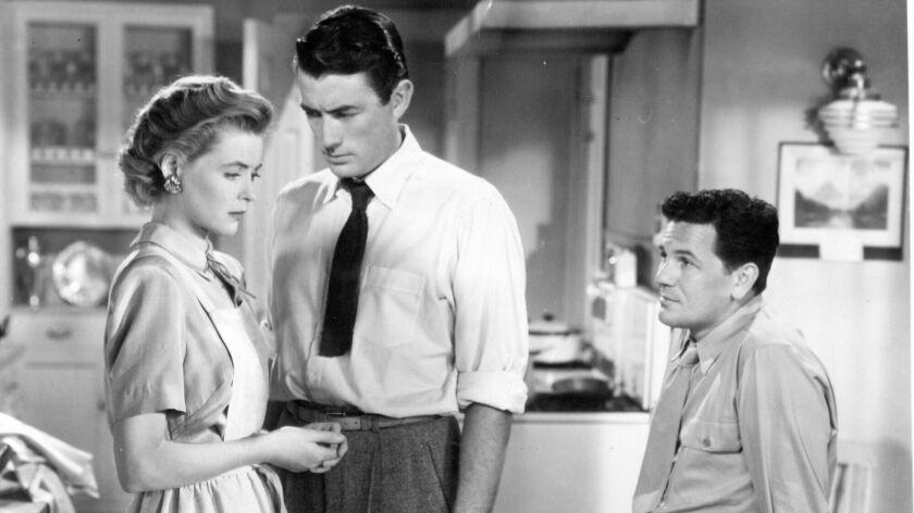 """Dorothy McGuire, Gregory Peck and John Garfield in """"Gentlemen's Agreement."""""""