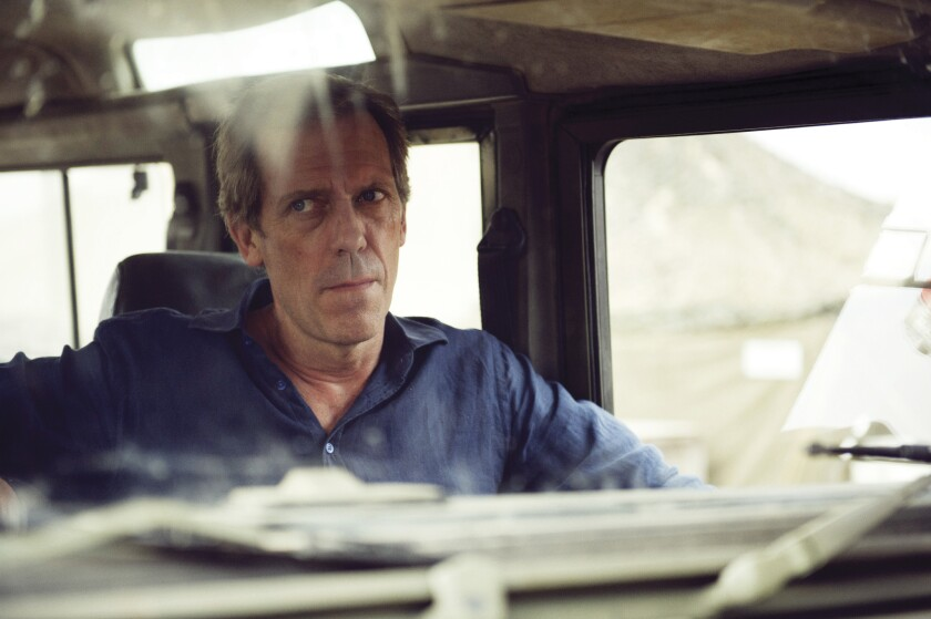 "Hugh Laurie as Richard Onslow Roper in ""The Night Manager."""