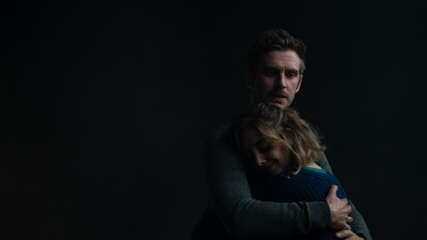"Dan Stevens and Alison Brie in the movie ""The Rental."""