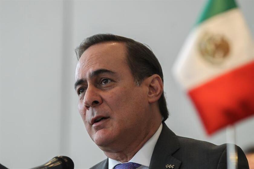 El presidente del Consejo Coordinador Empresarial, Juan Pablo Castañon. EFE/ARCHIVO