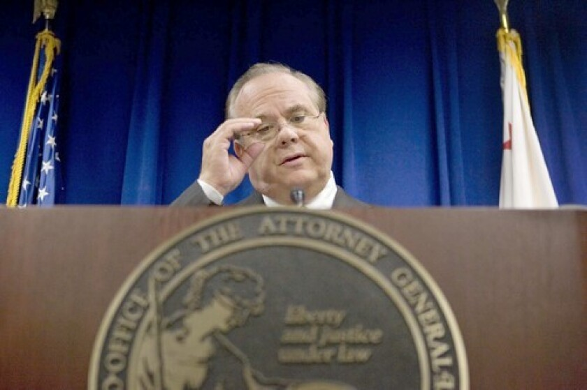 Former California Atty. Gen. Bill Lockyer