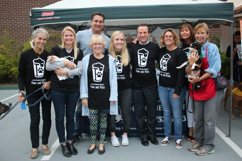 Betsy Seible, Maggie Ward with Little, Jim Silveira, Cheryl Gunn, Kelly Peters, Michael Berg, Wanne Murray, Lesli Horowitz, Annette Beaty with Buddy