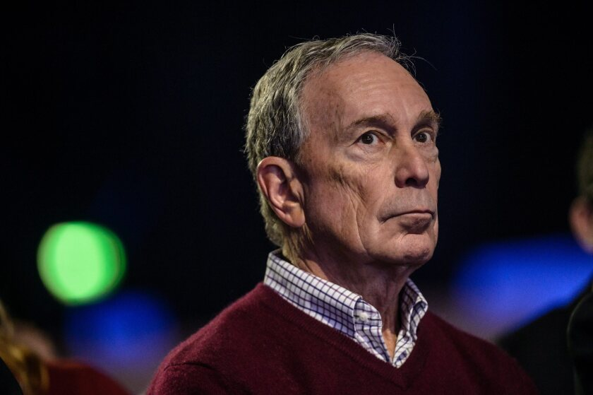 Op-Ed: Bloomberg is not the candidate to take on Trump. Here's why